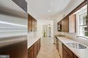 Stainless appliances include SubZero refrigerator - 7808 CHARLESTON DR, BETHESDA