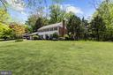 Sited back from the street with deep front lawn - 7808 CHARLESTON DR, BETHESDA