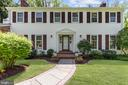 Welcoming entry facade - 7808 CHARLESTON DR, BETHESDA