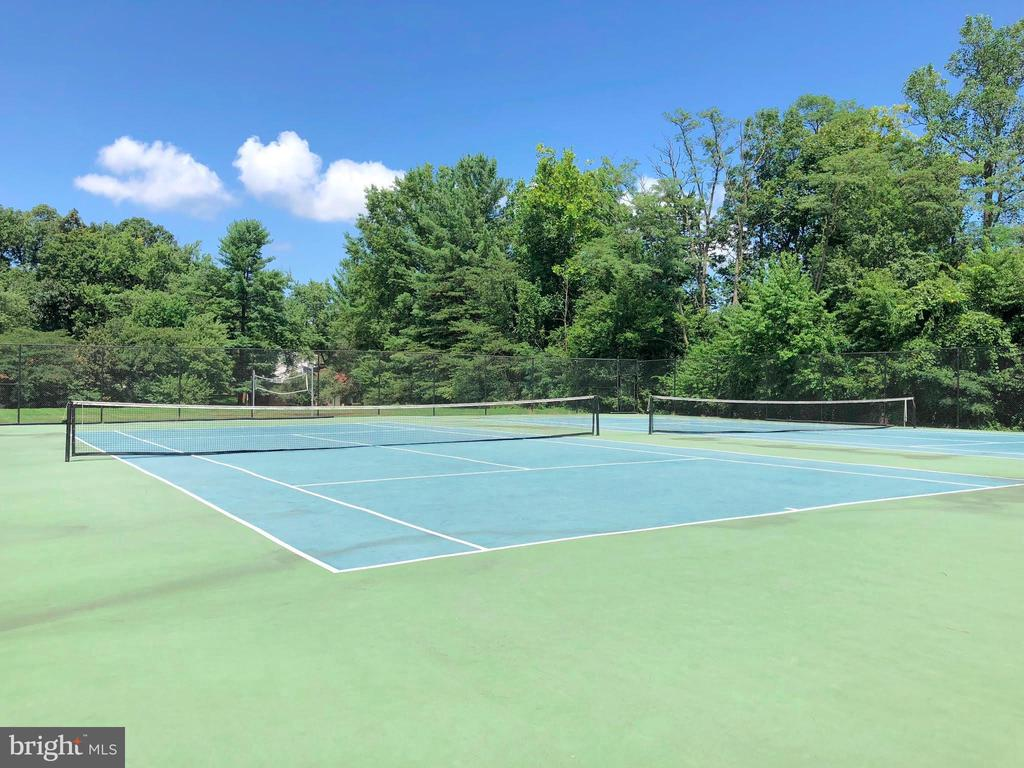 Community Tennis Courts - 34 SIMEON LN, STERLING