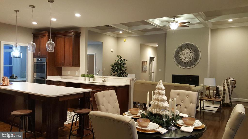 open kitchen, breakfast and family room - GRUVER GRADE, MIDDLETOWN