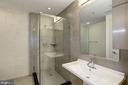 Recently refurbished bathroom. - 1133 14TH ST NW #1211, WASHINGTON