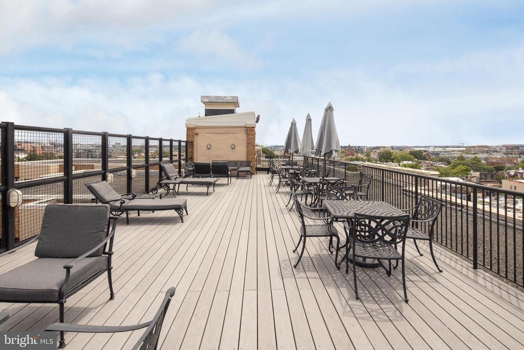 Roof Deck - 1701 16TH ST NW #715, WASHINGTON