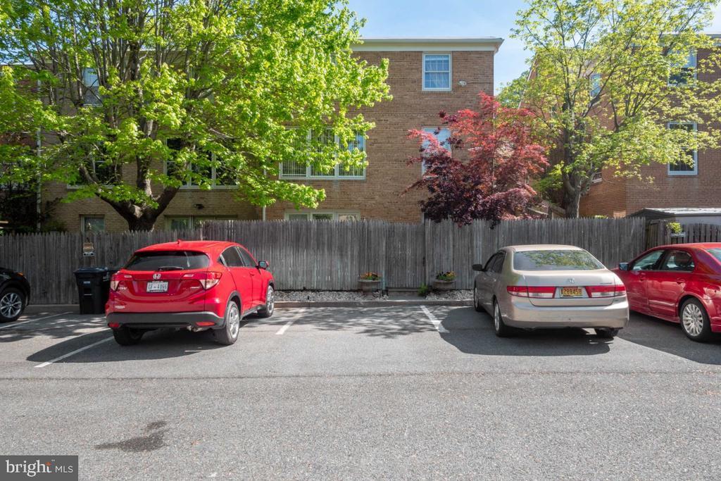 Four parking spaces - 4732 MASSACHUSETTS AVE NW, WASHINGTON