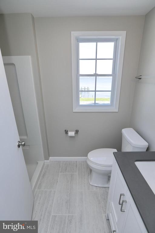 Bathroom #3 Upstairs completely updated - 18850 WICOMICO RIVER DR, COBB ISLAND