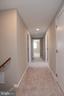 Hallway Upstairs new paint & carpet - 18850 WICOMICO RIVER DR, COBB ISLAND