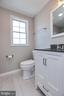 Beautiful new Bathroom with water view - 18850 WICOMICO RIVER DR, COBB ISLAND