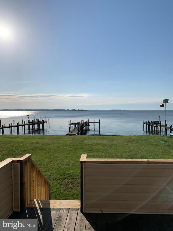 What a morning view. - 18850 WICOMICO RIVER DR, COBB ISLAND