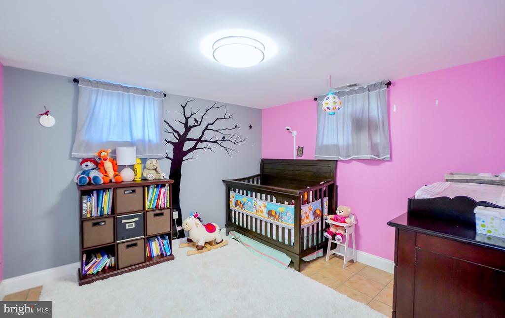 First bonus room in basement. - 7709 WEBER ST, ANNANDALE