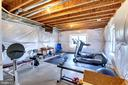 Lower Level Home Gym - 22077 OATLANDS RD, ALDIE