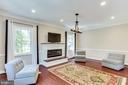 New Fireplace - 10811 CRIPPEN VALE CT, RESTON