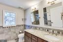 New Double Vanity Bathroom - 10811 CRIPPEN VALE CT, RESTON