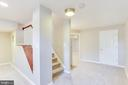 Large Finished Basement - 10811 CRIPPEN VALE CT, RESTON