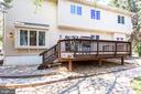 Large Freshly Painted Deck - 10811 CRIPPEN VALE CT, RESTON