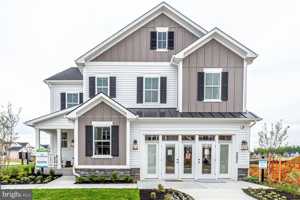 Model Home-~Exterior - EMBREY MILL ROAD- YELLOWSTONE, STAFFORD