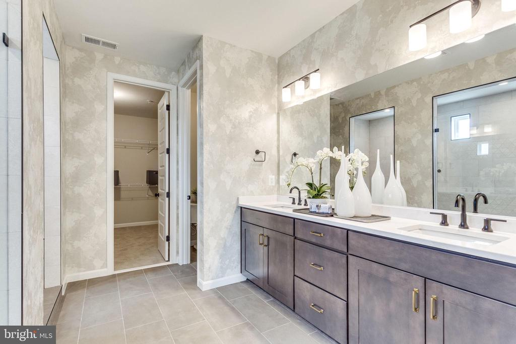Model Home-~Master Bathroom - EMBREY MILL ROAD- YELLOWSTONE, STAFFORD