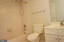 Upper Level Hall Bathroom View #2 - 12 SUMMERFIELD LN, FREDERICKSBURG