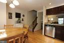 Alt view of kitchen - 1594 WOODCREST DR, RESTON