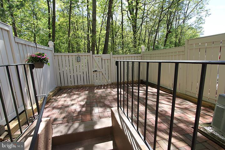 Large patio to relax on or to entertain - 1594 WOODCREST DR, RESTON
