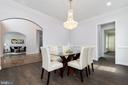 Dining Room - 6564 EDSALL RD, ALEXANDRIA