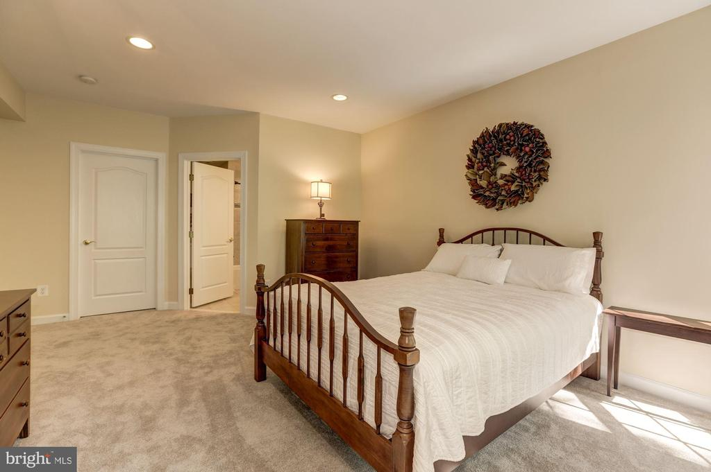 Lower Level bedroom with full bath - 43285 OVERVIEW PL, LEESBURG