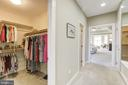 Two walk in closets, his/hers - 43285 OVERVIEW PL, LEESBURG