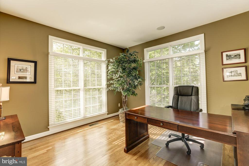 Large office with plenty of light - 43285 OVERVIEW PL, LEESBURG