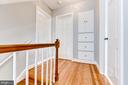 Hallway, Looking at Master, Bathroom, and 2nd Bed - 5135 34TH ST NW, WASHINGTON