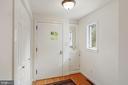Front entrance foyer with coat closet. - 3030 N QUINCY ST, ARLINGTON