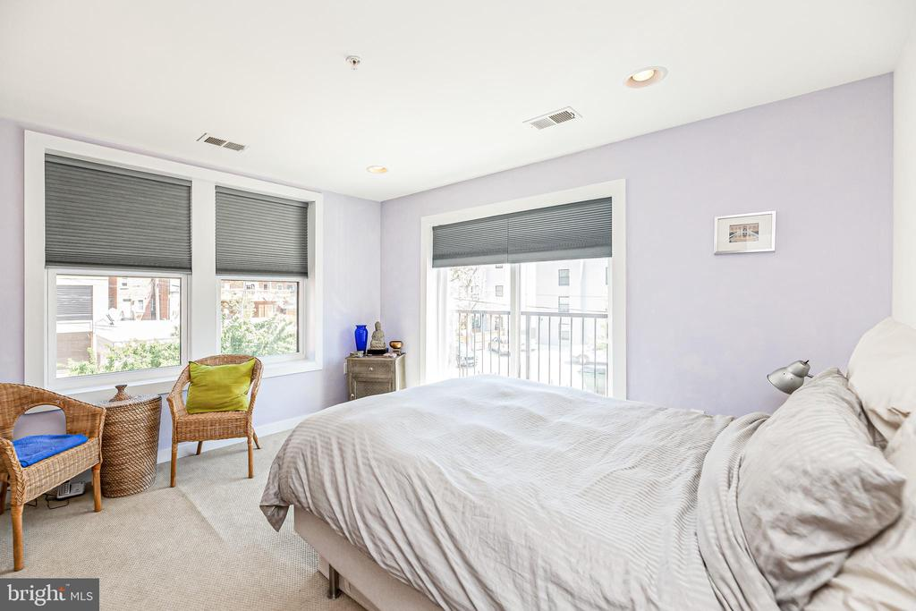 Sun-filled Master Suite - 732 LAMONT ST NW #303, WASHINGTON