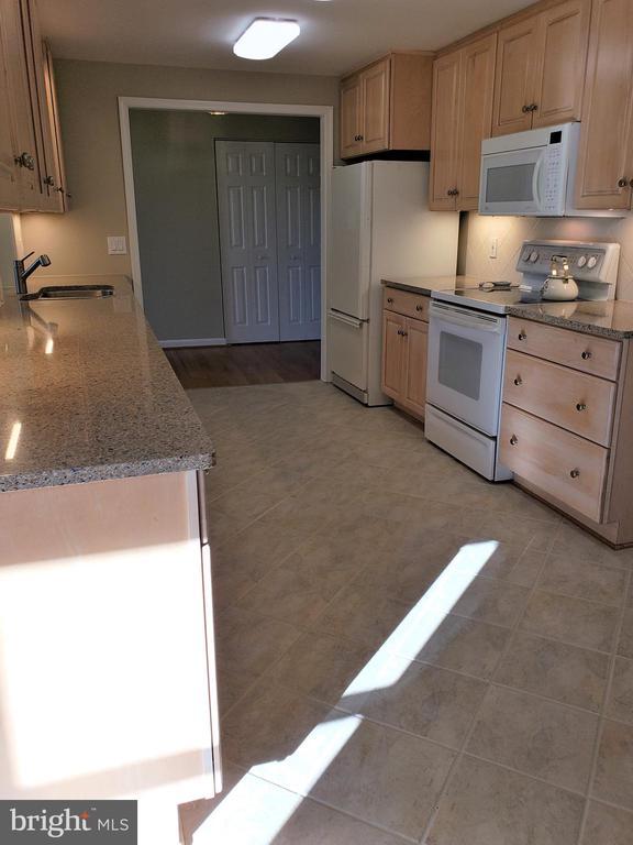 Kitchen showing undermount lighting - 11629 DUTCHMANS CREEK RD, LOVETTSVILLE