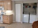 Laundry Closet in Kitchen - 11629 DUTCHMANS CREEK RD, LOVETTSVILLE