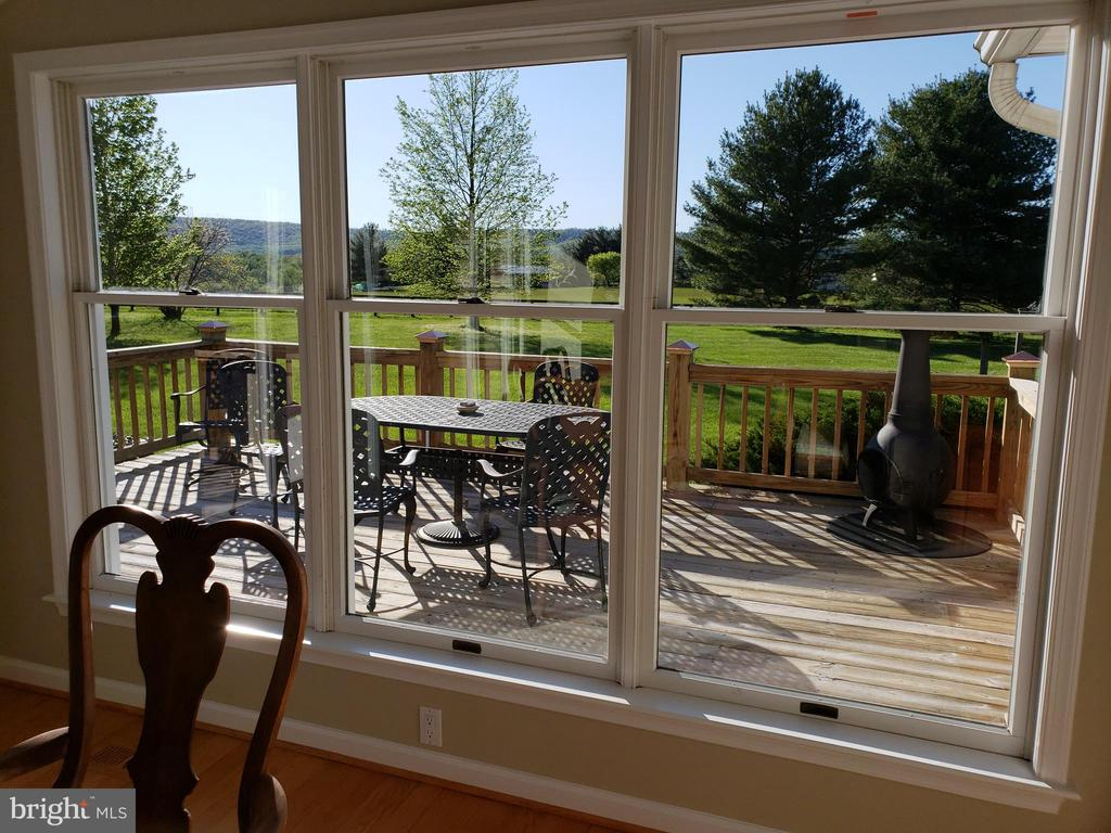 Tremendous View from Dining Room - 11629 DUTCHMANS CREEK RD, LOVETTSVILLE