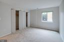 Double closets in Master Bedroom - 545 FLORIDA AVE #T1, HERNDON