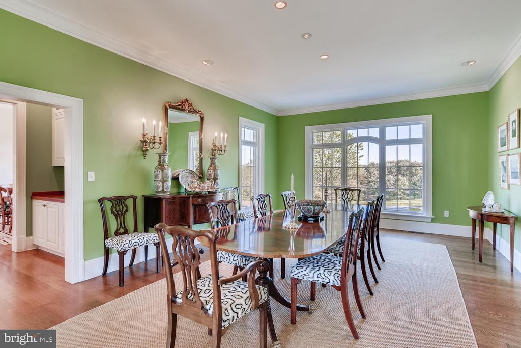 Dining Room opens to Butlers Pantry - 2200 GADD RD, COCKEYSVILLE