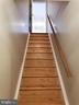 Staircase to Lower Level rooms - 11629 DUTCHMANS CREEK RD, LOVETTSVILLE