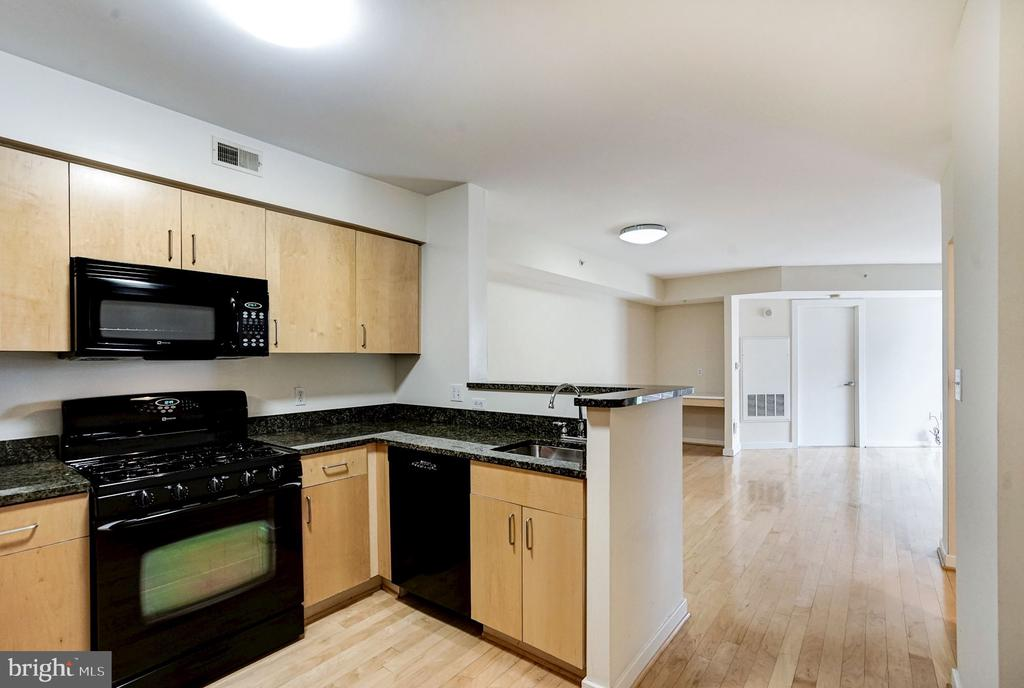 Fully Outfitted Kitchen - 1000 NEW JERSEY AVE SE #413, WASHINGTON