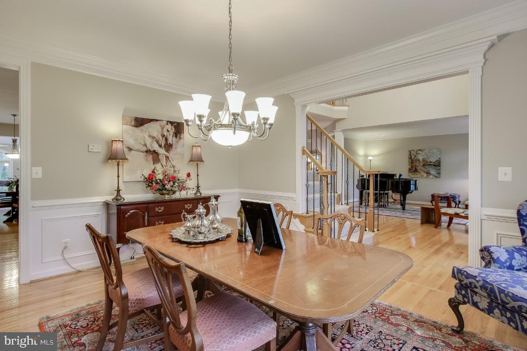 Dining Room - 16917 OLD SAWMILL RD, WOODBINE