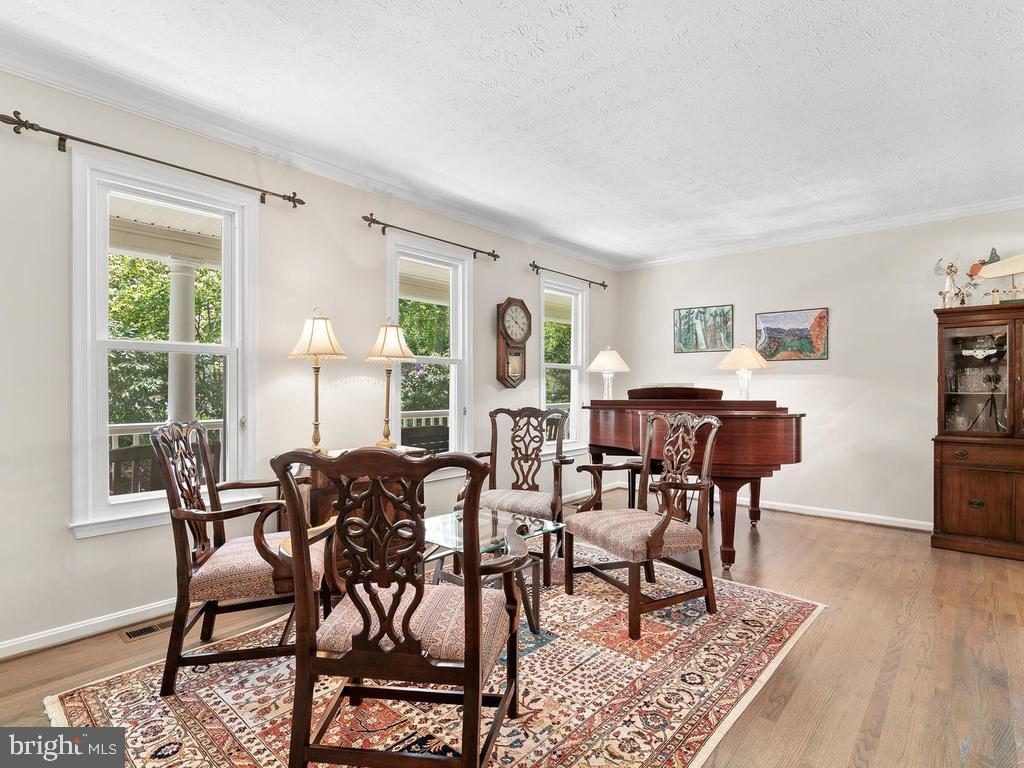 Living room with great natural light! - 1281 AUBURN GROVE LN, RESTON
