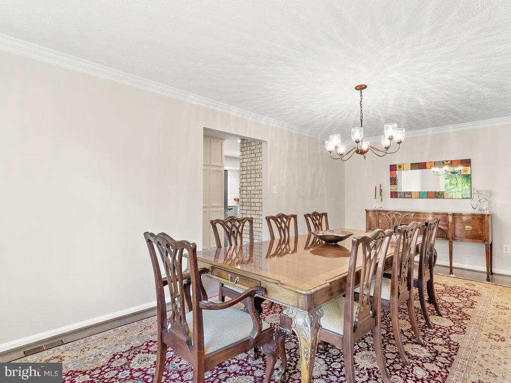 Extended dining room - 1281 AUBURN GROVE LN, RESTON