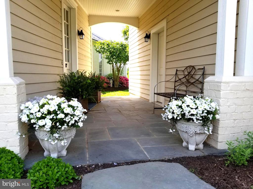 Breezeway opens to Mud Room and 3-Car Garage - 2200 GADD RD, COCKEYSVILLE