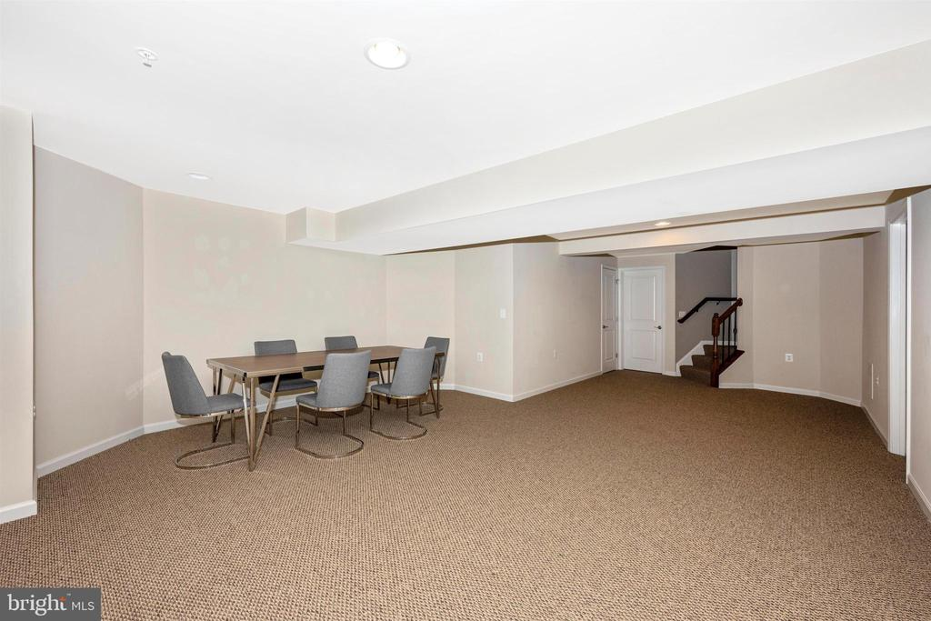 Fully Finished Lower Level Rec Space - 3026 OLD ANNAPOLIS TRL, FREDERICK