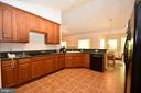 Kitchen with ceramic tile - 79 MILLBROOK RD, STAFFORD