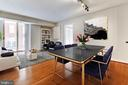 Virtual Staging- LR/DR - 7500 WOODMONT AVE #S902, BETHESDA