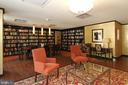 Library - 4620 N PARK AVE #1411E, CHEVY CHASE