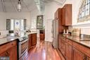 Kitchen - 9601 DEWITT DR, SILVER SPRING