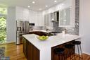 Kitchen - 54 G ST SW #113, WASHINGTON