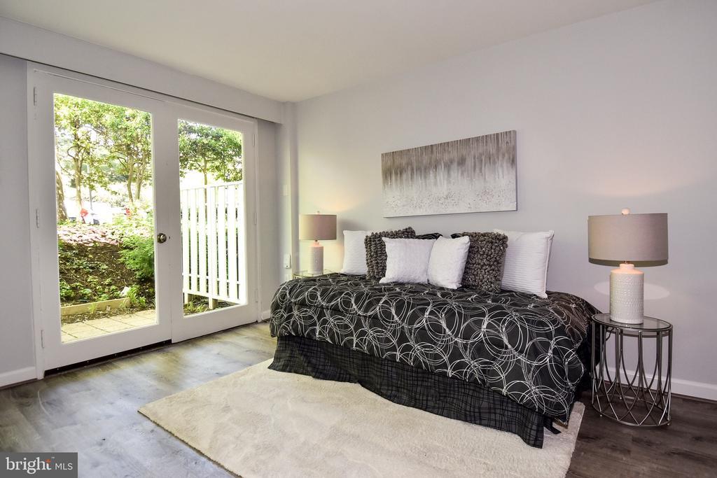 Apt Living Room - 54 G ST SW #113, WASHINGTON