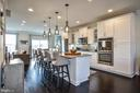 Entertainer's kitchen with gourmet touches - 22295 PINECROFT TER, ASHBURN