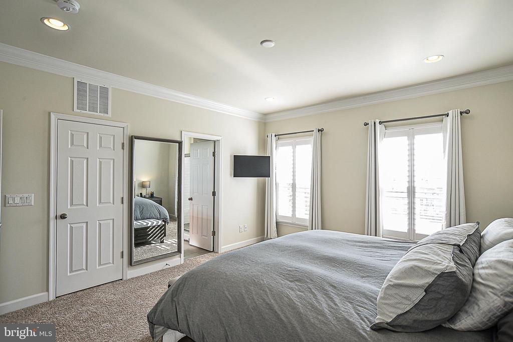 Large Master with dual walk-in closets - 22295 PINECROFT TER, ASHBURN
